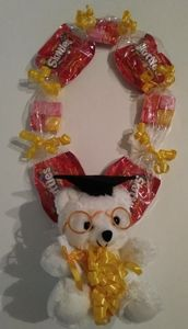 Candy leis, graduation candy lei, graduation gifts